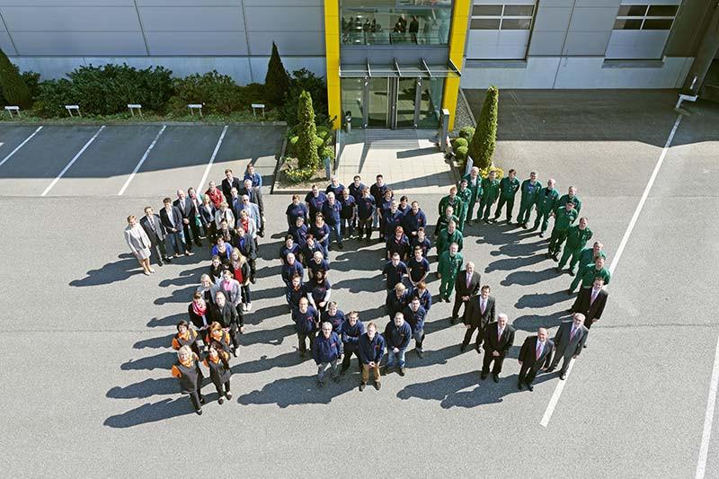 100-Jahre-Utz-Teamfoto