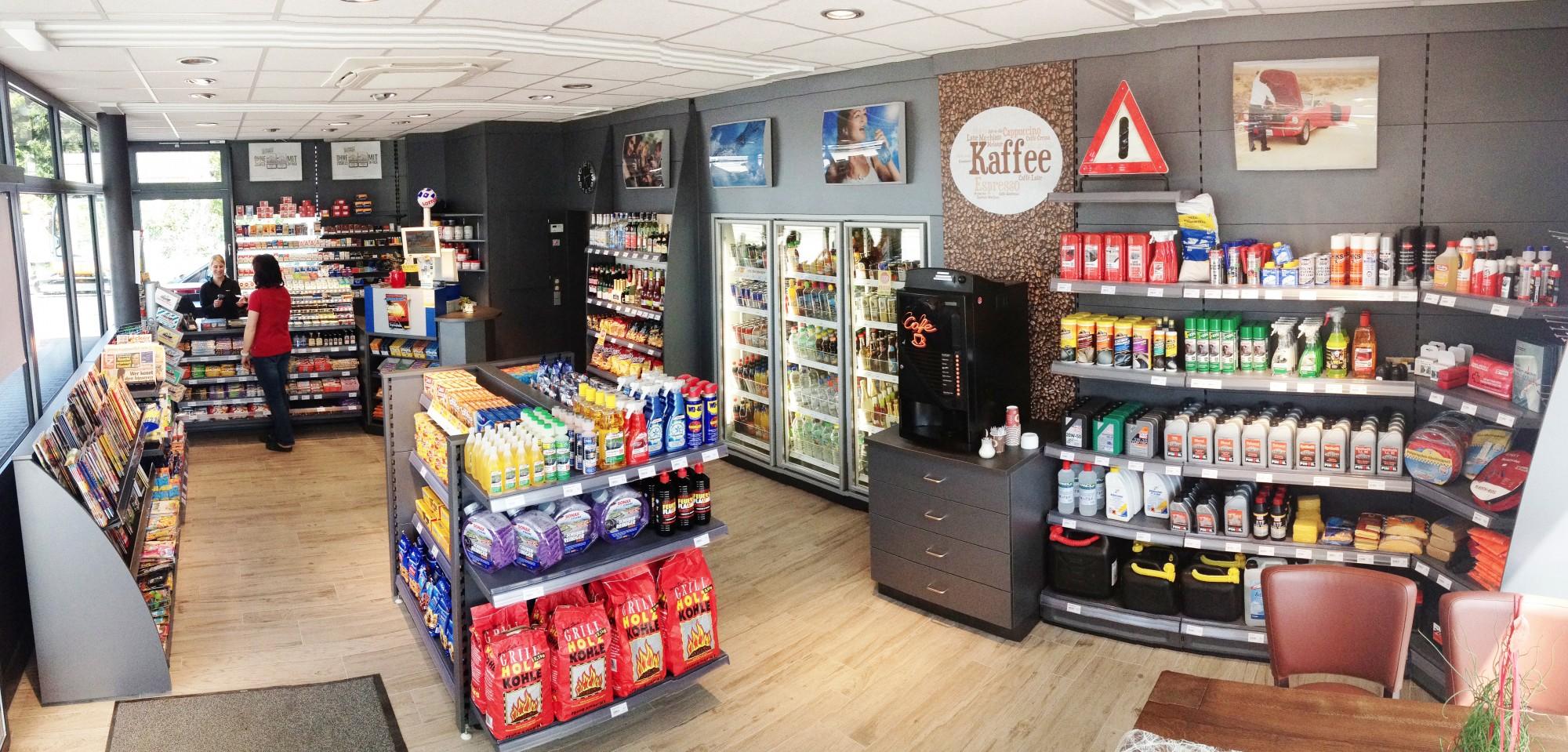Pinoil Tankstelle Frei Erweiterung Verkaufsraum In